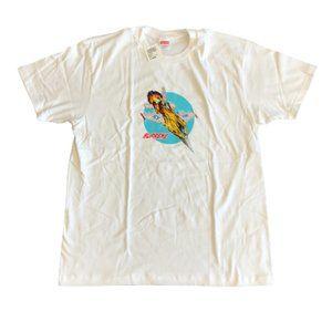 Supreme FW20 Jet White T-Shirt Size Large
